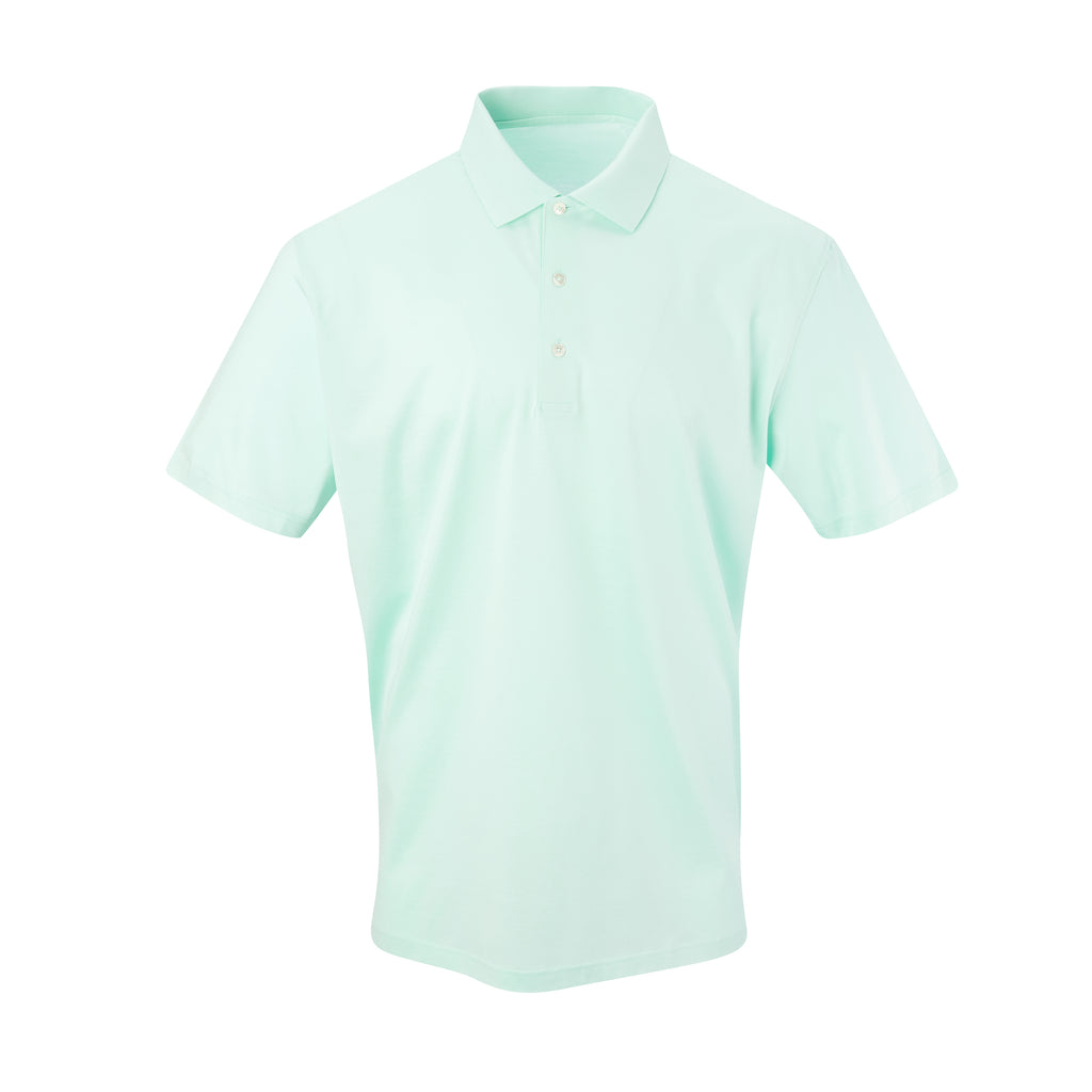 THE PRES MERCERIZED POLO - Mist IS62200