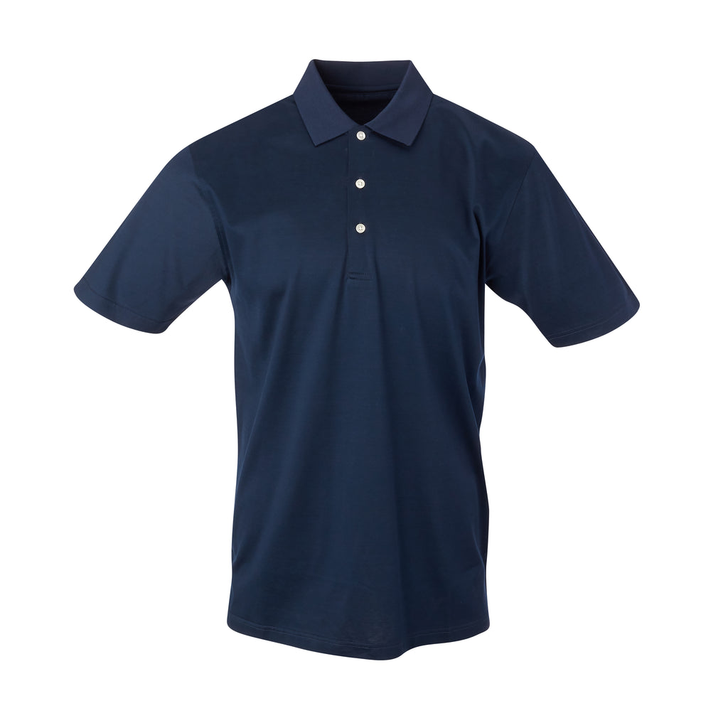 THE PRES MERCERIZED POLO - Navy IS62200