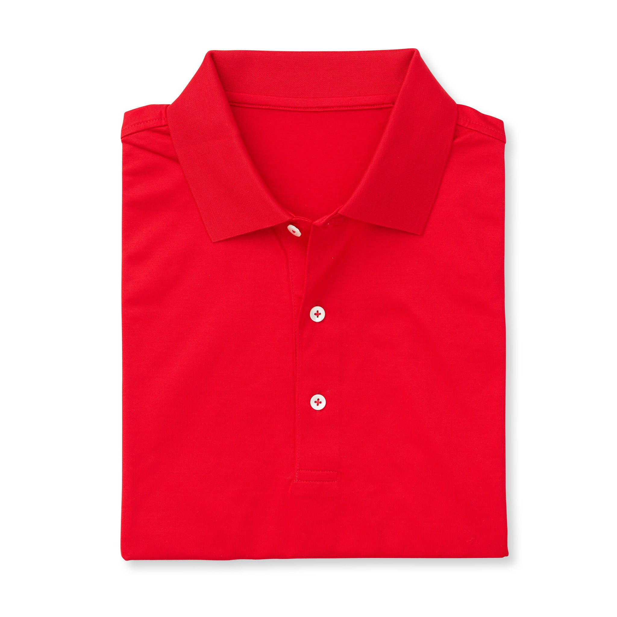 SUPIMA Short Sleeve Mercerized Polo - Patriot Red IS62200
