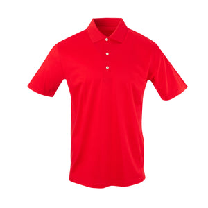THE PRES MERCERIZED POLO - Patriot Red IS62200
