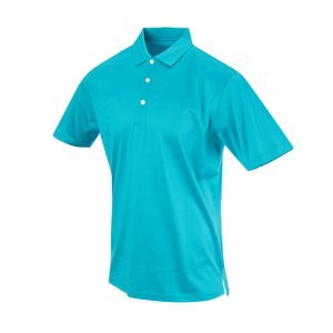 THE PRES MERCERIZED POLO - Teal IS62200