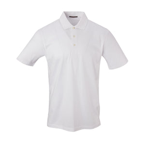 THE PRES MERCERIZED POLO - White IS62200