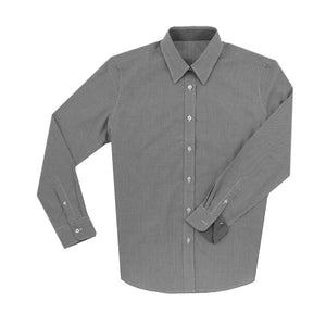 THE WOMEN'S BOSS COTTON SPORT SHIRT- Black IS62311W