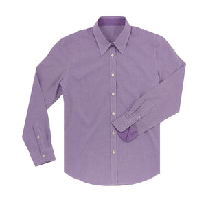 THE WOMEN'S BOSS COTTON SPORT SHIRT- Berry IS62311W