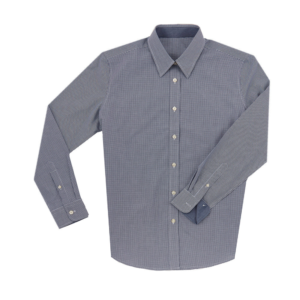 THE WOMEN'S BOSS COTTON SPORT SHIRT - Navy IS62311W