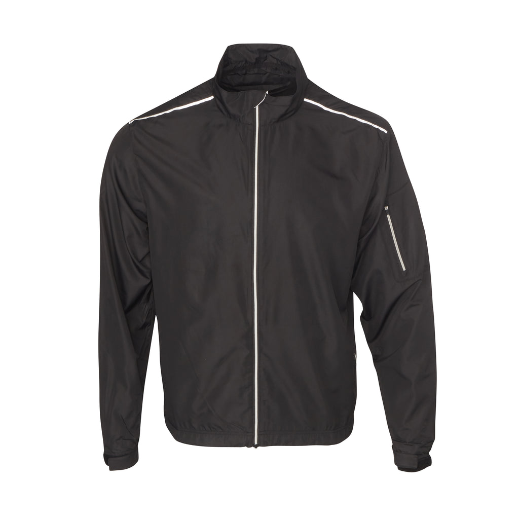 THE AVIATOR FULL ZIP TEC WINDWEAR - Black IS64905FZ