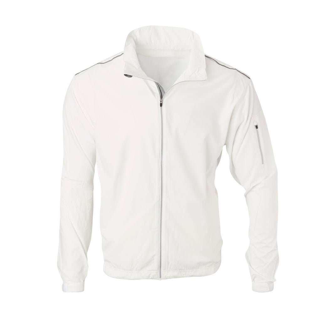 THE AVIATOR FULL ZIP TEC WINDWEAR - White IS64905FZ