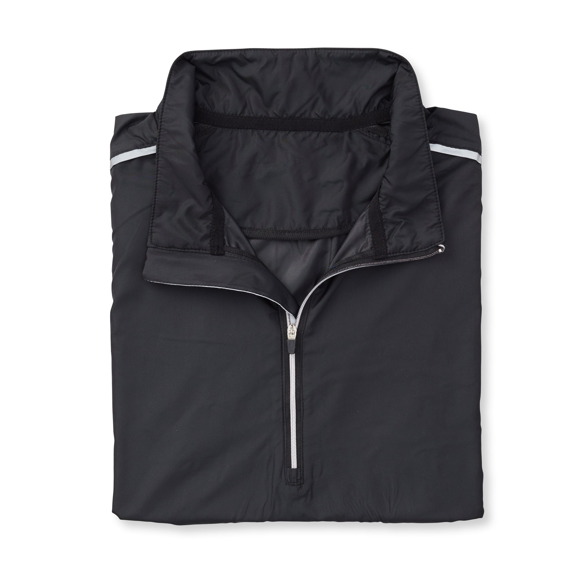 THE AVIATOR HALF ZIP TEC WINDWEAR - Black