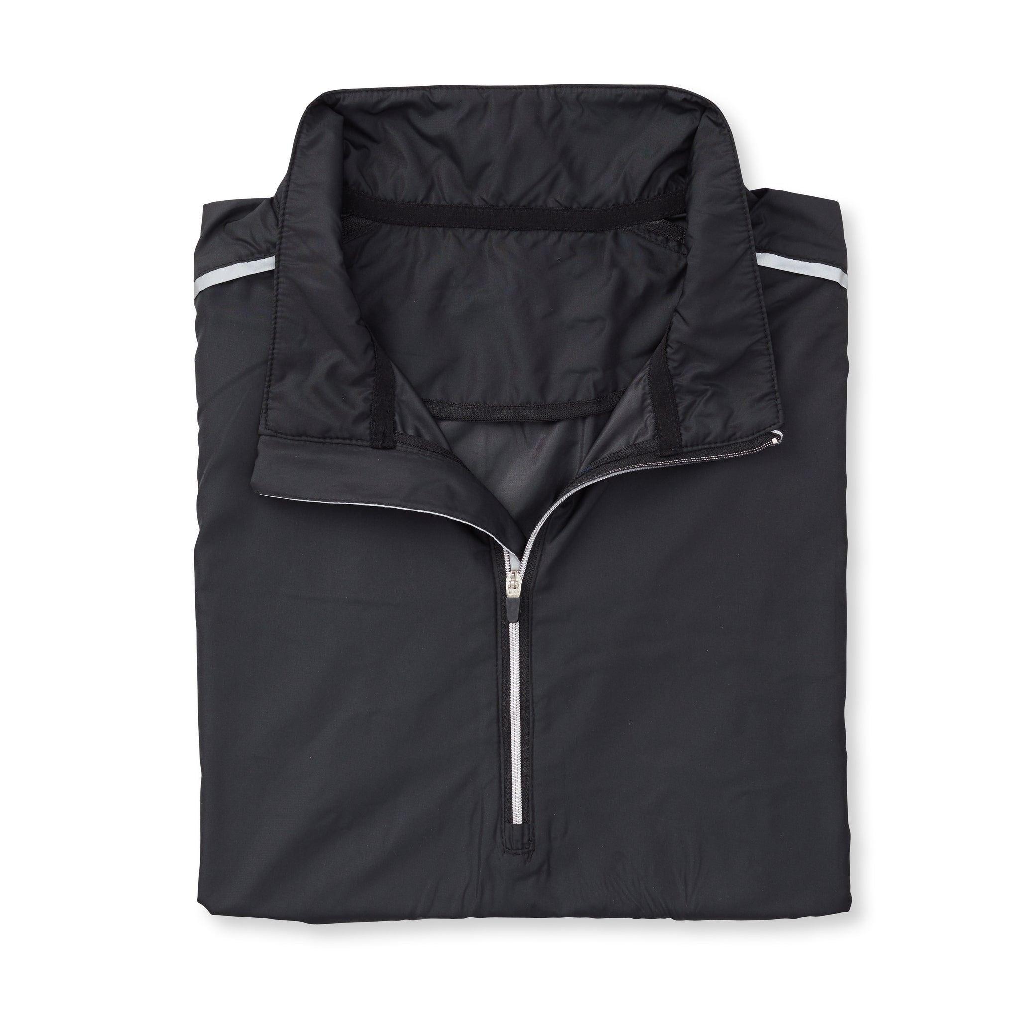 TEC WINDWEAR Half Zip Jacket - Black