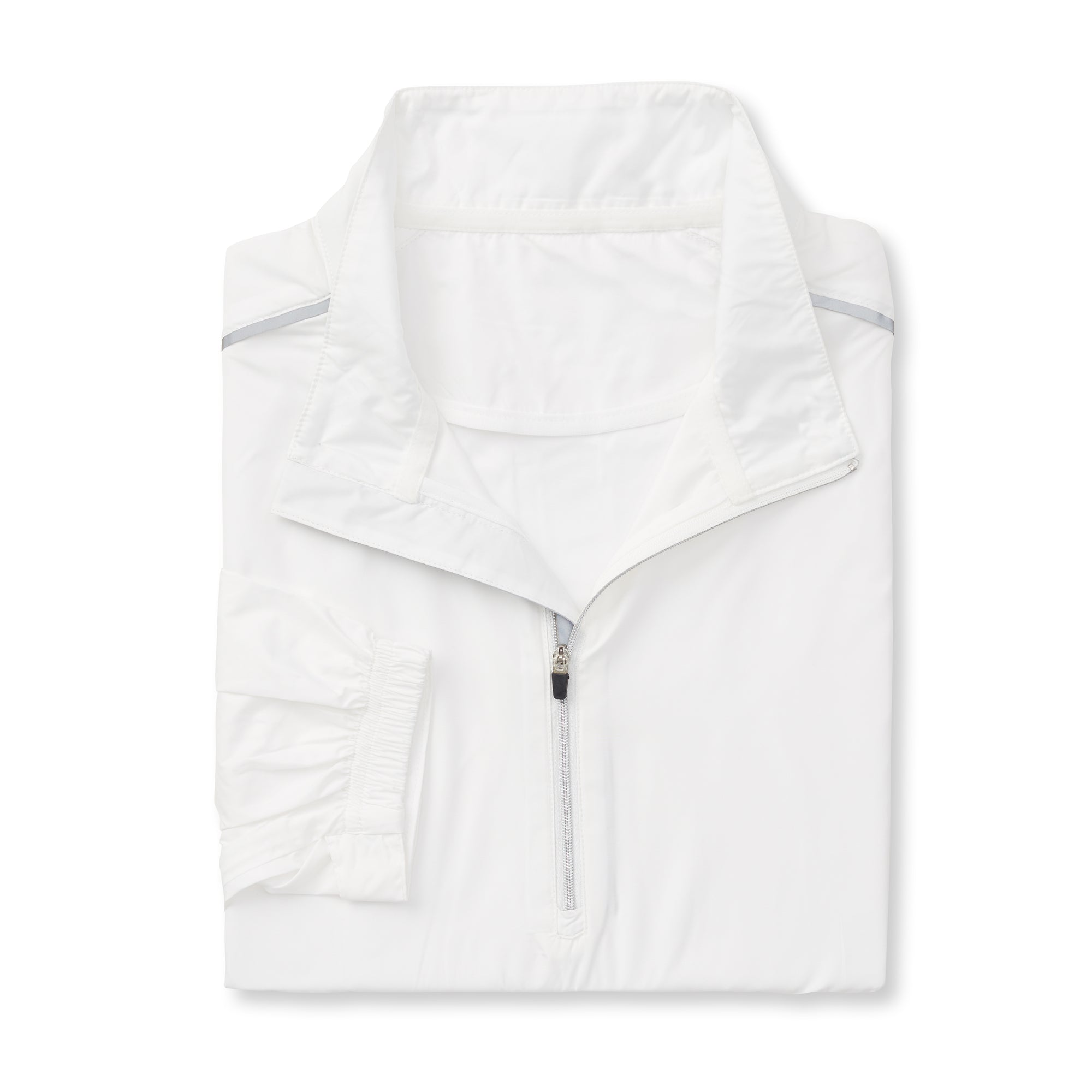 THE AVIATOR HALF ZIP TEC WINDWEAR - White
