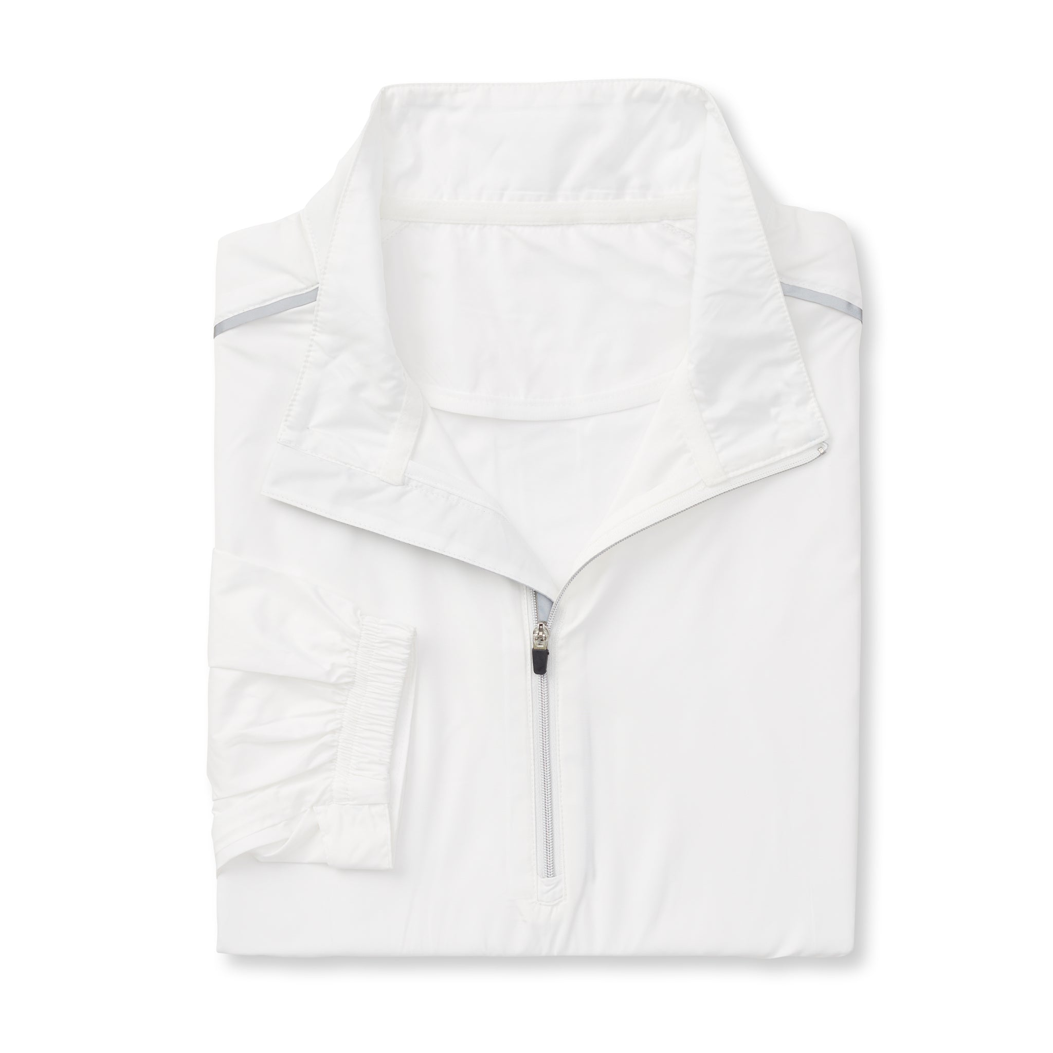 TEC WINDWEAR Half Zip Jacket - White