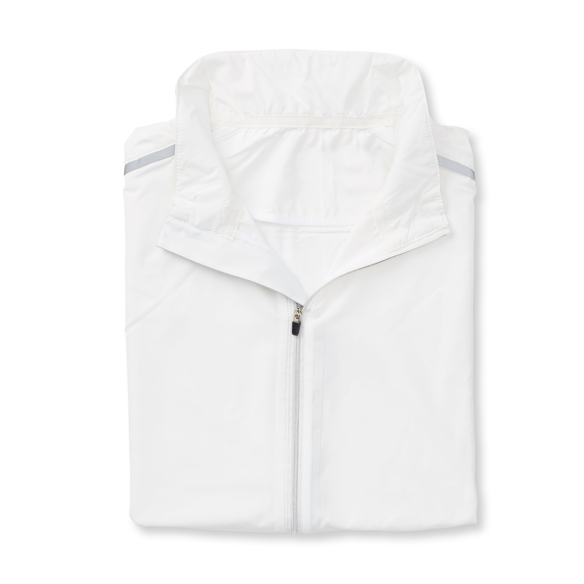 TEC WINDWEAR Full Zip Vest - White IS64905VES