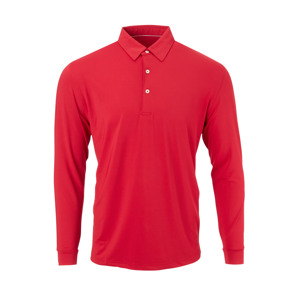 THE CLASSIC LONG SLEEVE POLO - IS66001