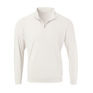 THE CLASSIC LONG SLEEVE HALF ZIP PULLOVER - Cloud IS66006