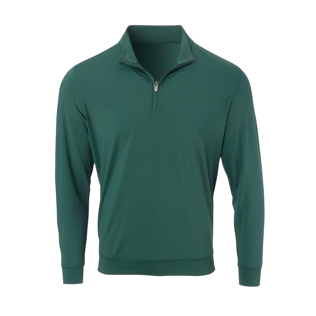 THE CLASSIC LONG SLEEVE HALF ZIP PULLOVER - Pine IS66006