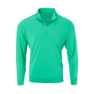THE CLASSIC LONG SLEEVE HALF ZIP PULLOVER - Turf IS66006