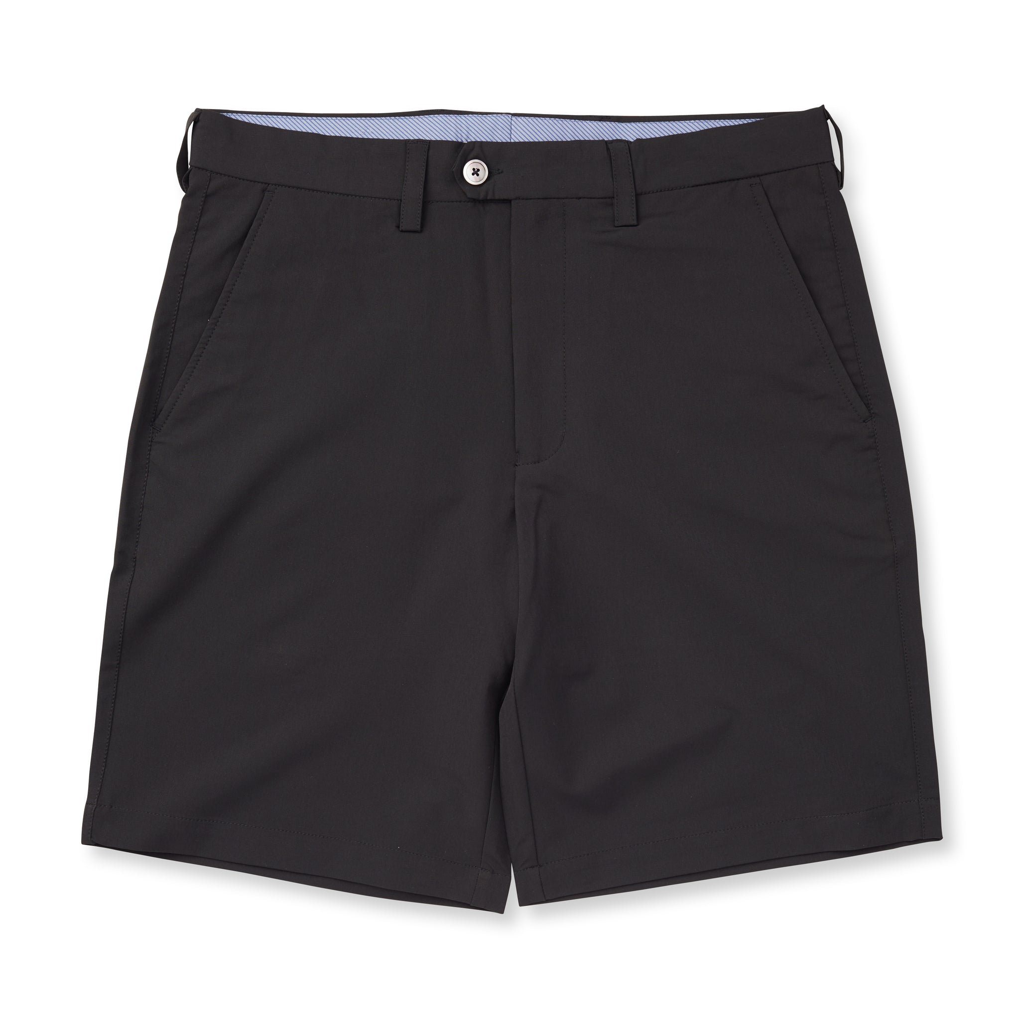 Poly Stretch Country Club Shorts - Black