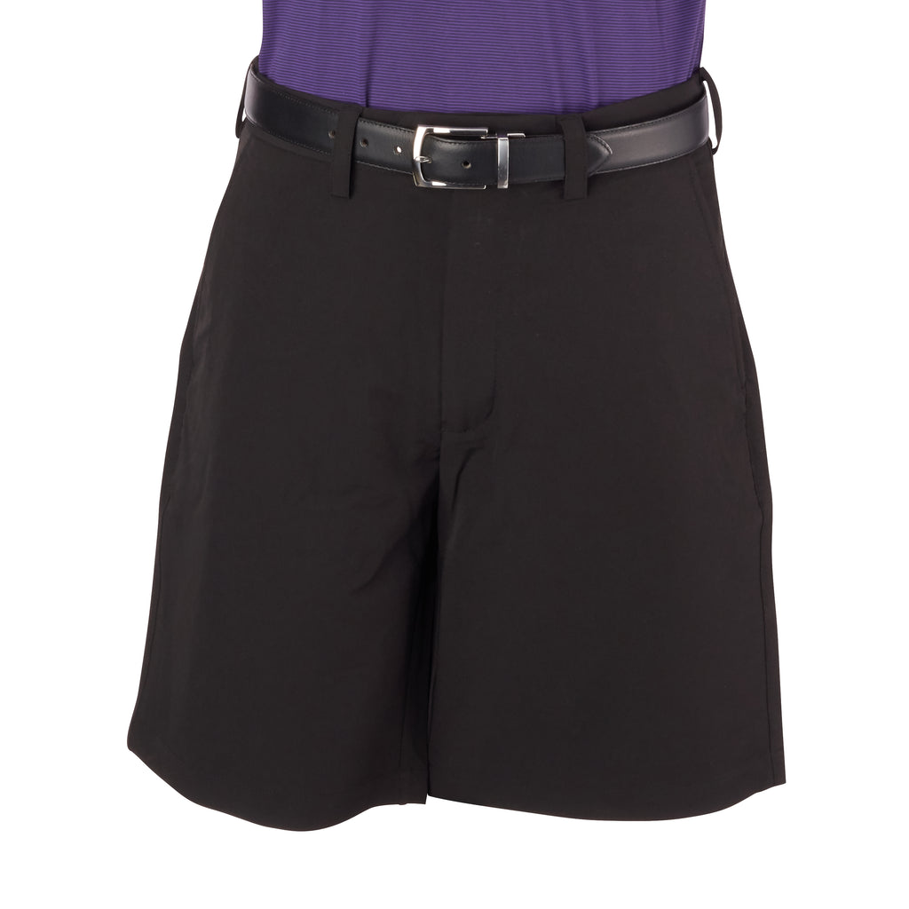 THE SATURDAY POLY STRETCH SHORT - Black