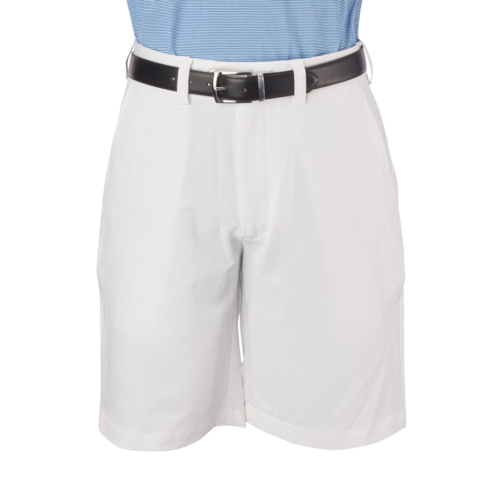 THE SATURDAY POLY STRETCH SHORT - White