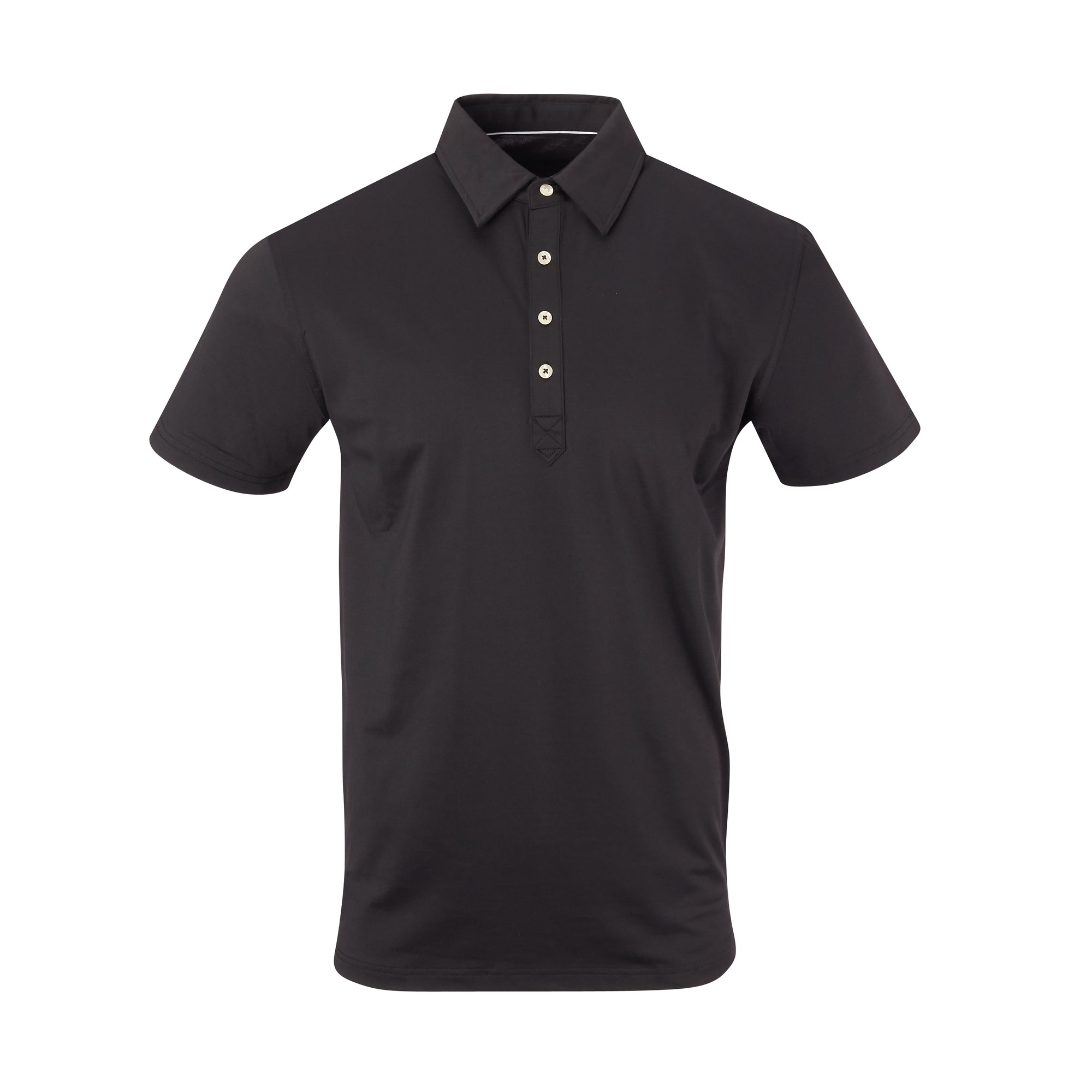 THE ARNIE LUXTEC POLO - Black IS72400
