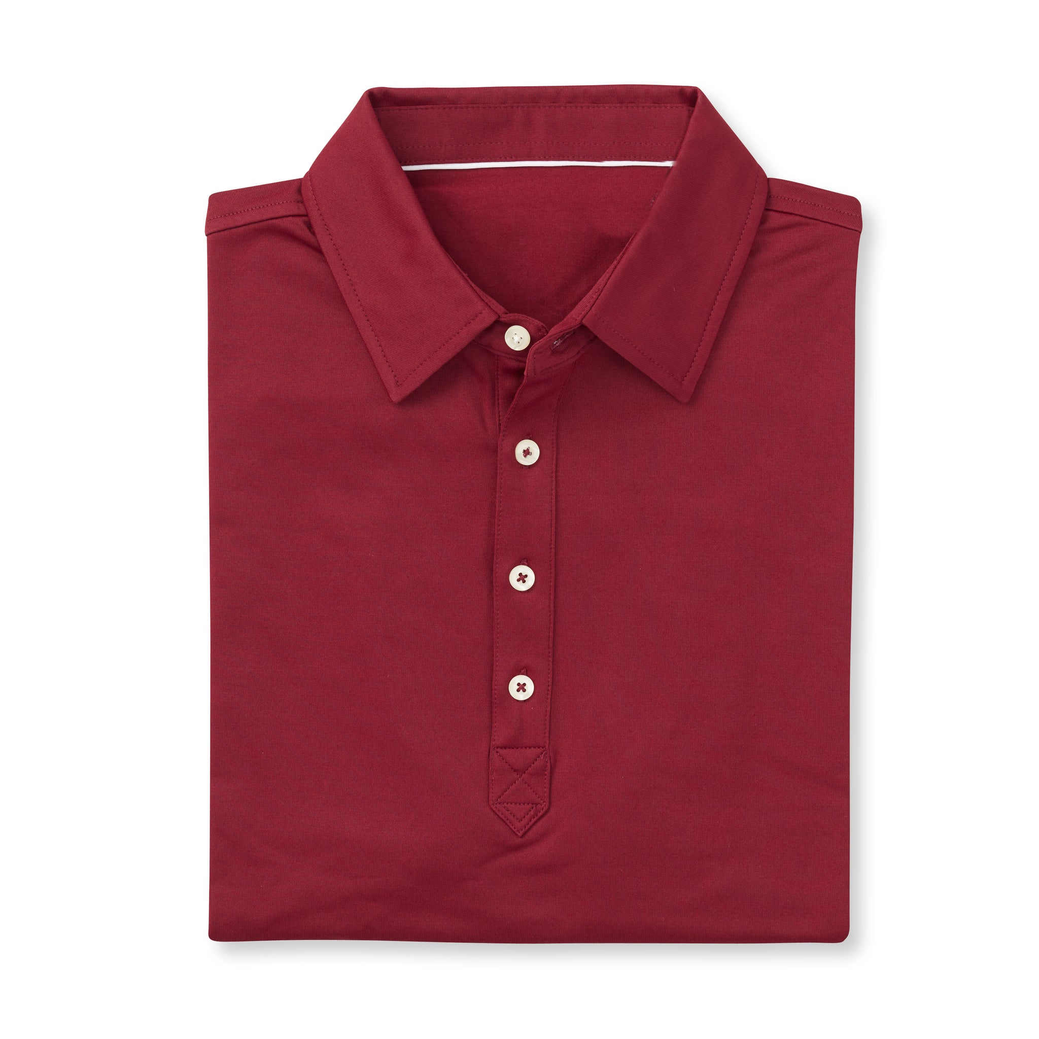 LUXTEC Champions Short Sleeve Polo - Merlot IS72400