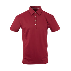 THE ARNIE LUXTEC POLO - Merlot IS72400