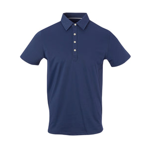 THE ARNIE LUXTEC POLO - Navy IS72400
