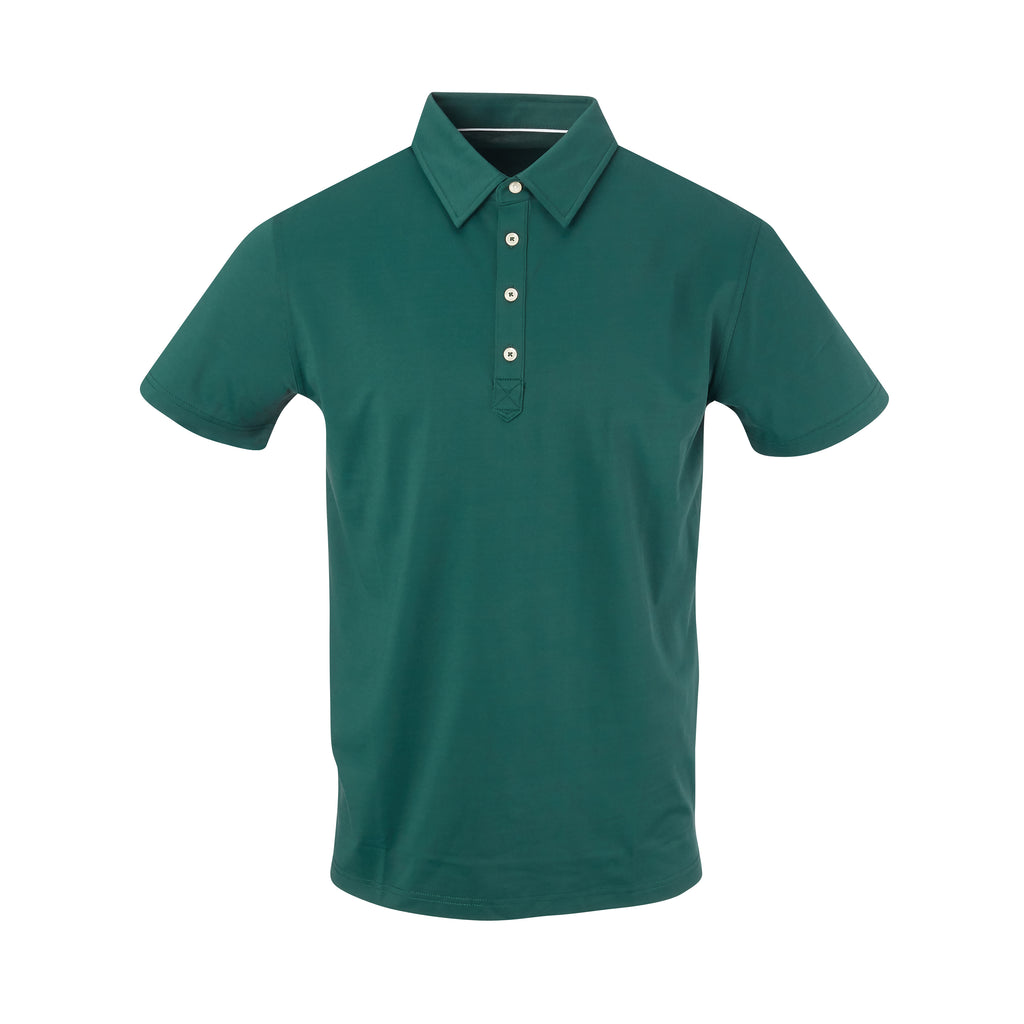 THE ARNIE LUXTEC POLO - Pine IS72400