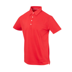 THE ARNIE LUXTEC POLO - Patriot Red IS72400