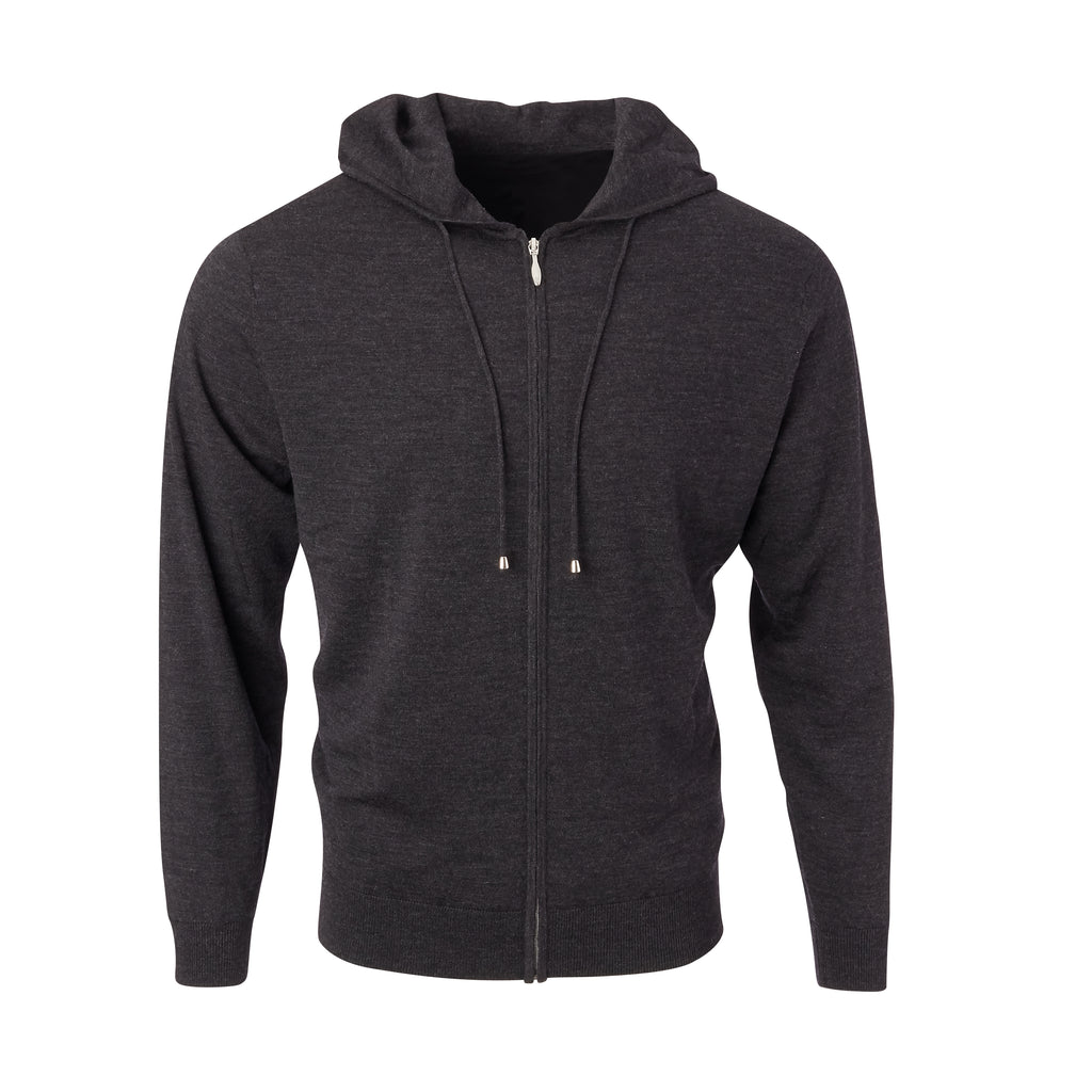 THE CHITOWN MERINO FULL ZIP HOODIE - IS75708FZ