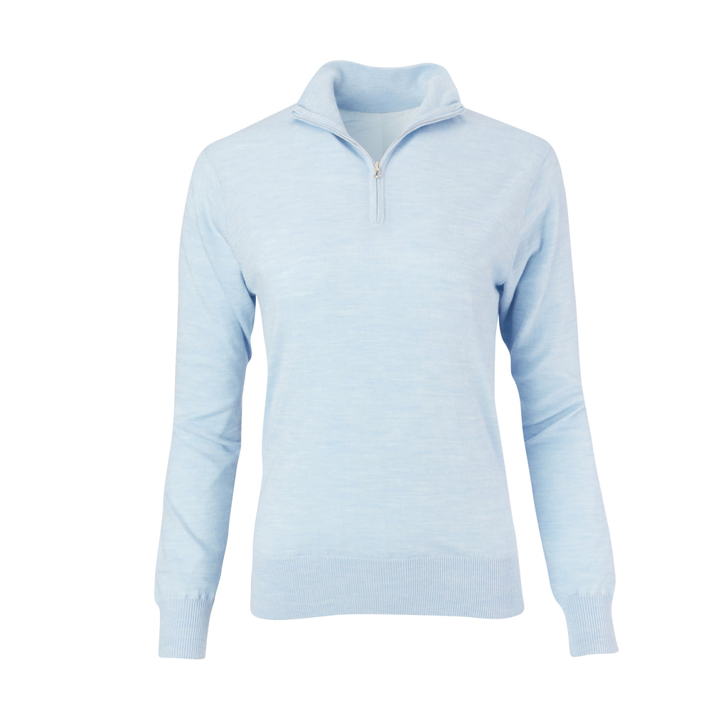 THE WOMEN'S CHITOWN MERINO HALF ZIP PULLOVER - IS75708HLSW