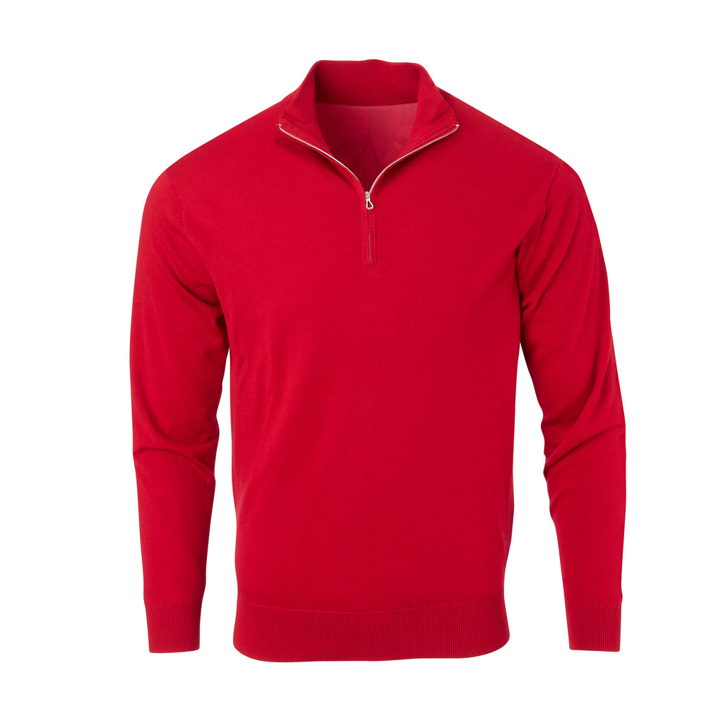 THE CHITOWN MERINO HALF ZIP PULLOVER - IS75708HLS