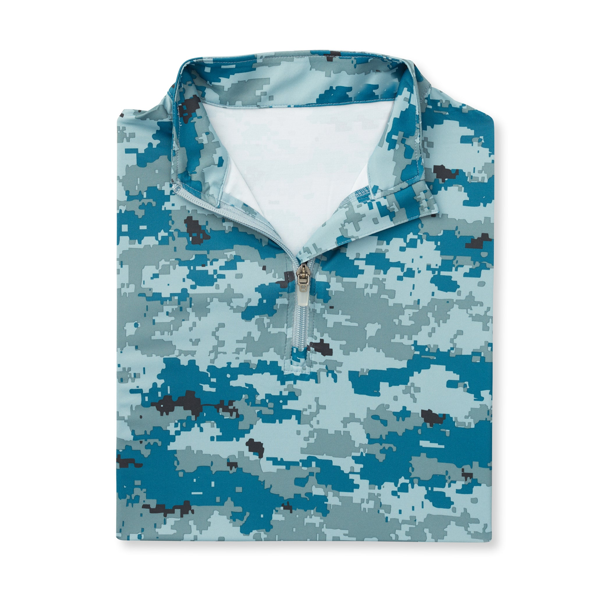 Womens Digital Camo Half Zip - Sea & Air IS76005W
