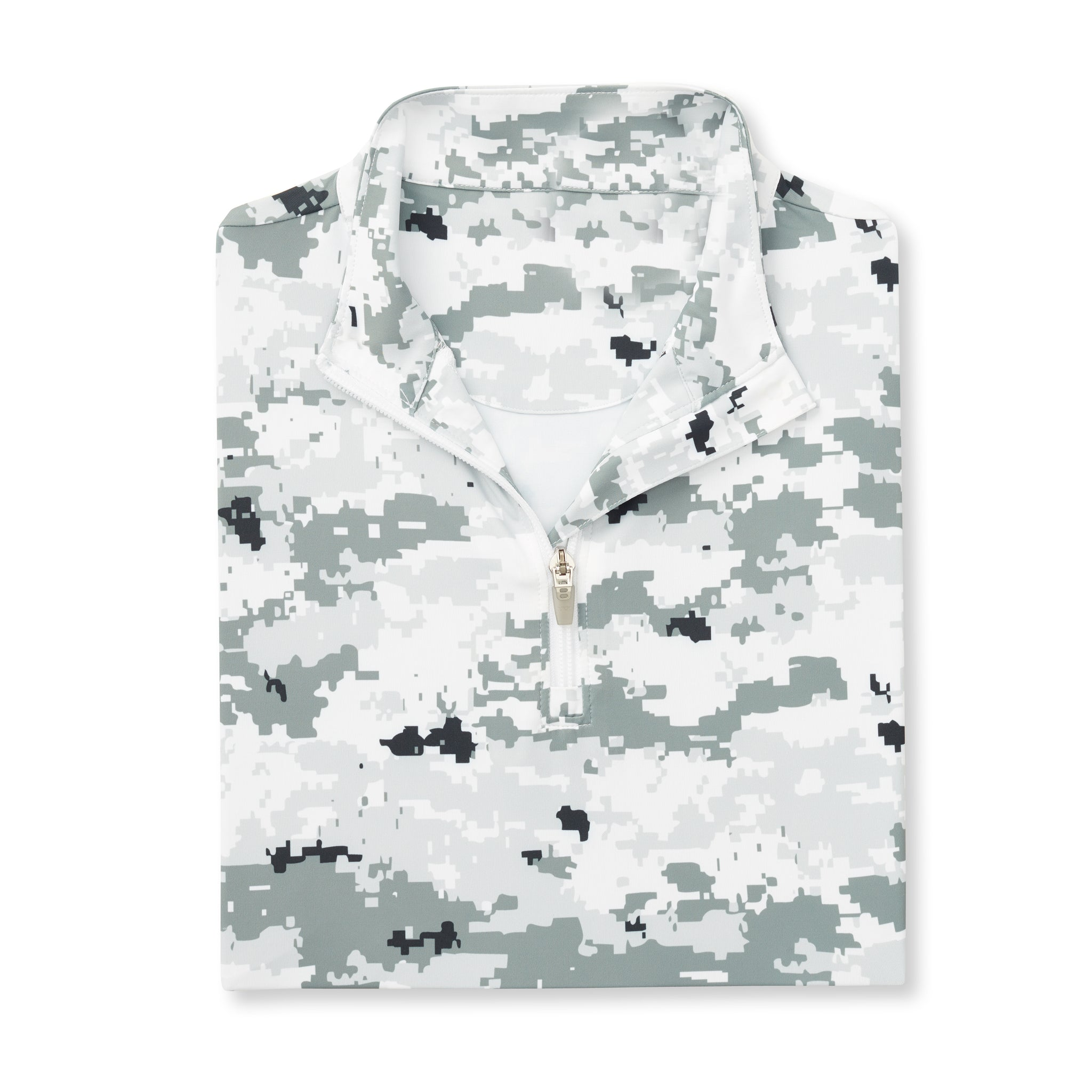 Womens Digital Camo Half Zip - Polar IS76005W