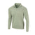 THE ZEN PEACHED HALF ZIP PULLOVER - Pine/Cloud IS76116