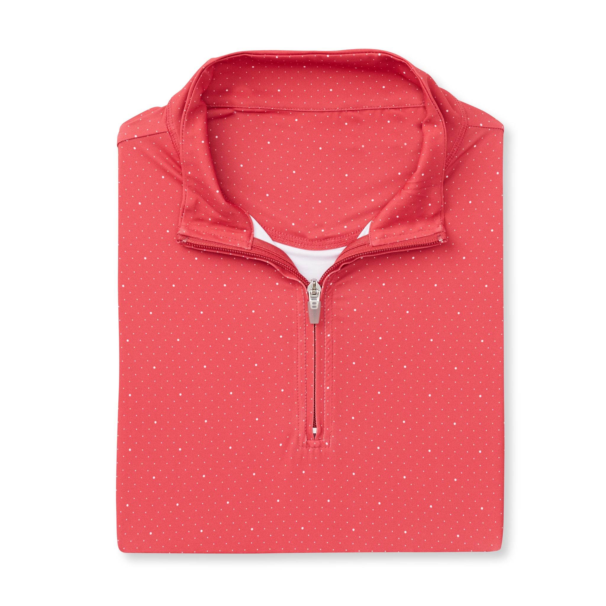 THE SKYWALKER HALF ZIP PULLOVER - Crimson/White IS76216