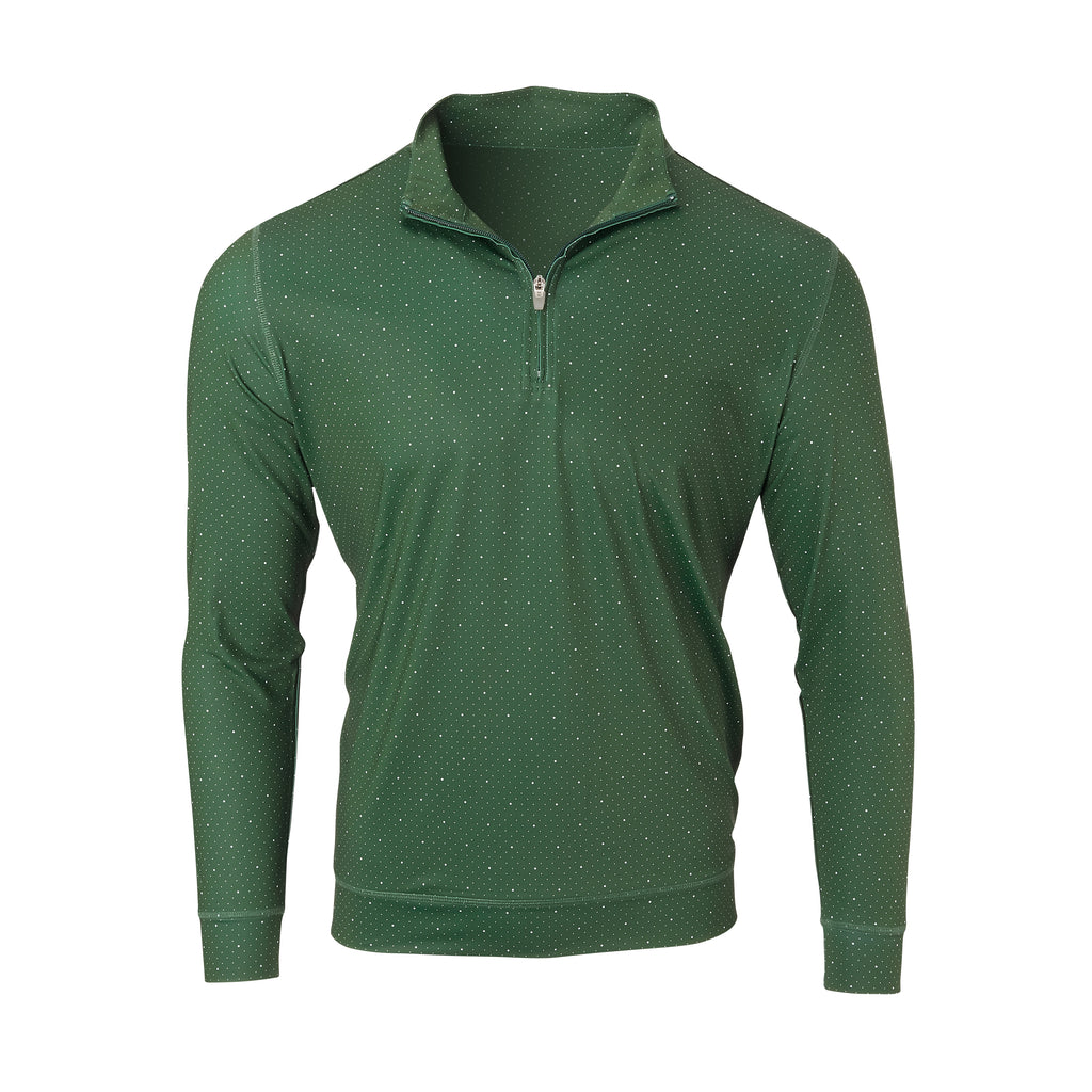THE SKYWALKER HALF ZIP PULLOVER - Pine/White IS76216