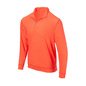 THE SKYWALKER HALF ZIP PULLOVER - Vibrant Orange/White IS76216