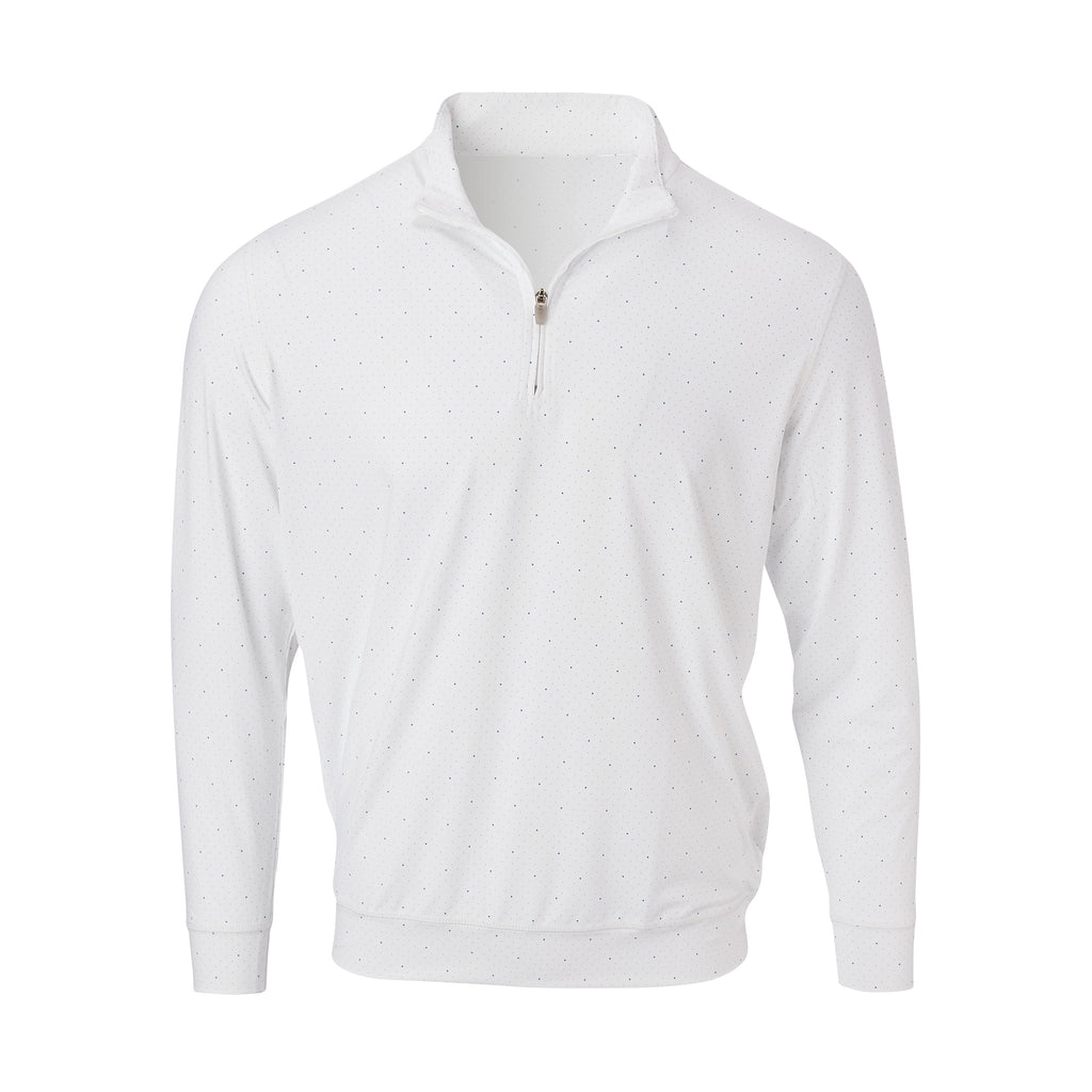 THE SKYWALKER HALF ZIP PULLOVER - White/Nautical IS76216