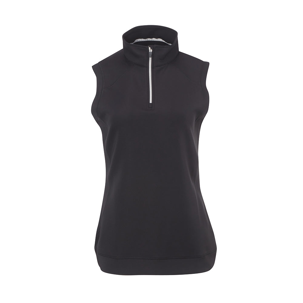 THE WOMEN'S CUMULUS  AQUATEC HALF ZIP VEST - Black IS76304VW