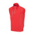 THE CUMULUS  AQUATEC HALF ZIP VEST - Patriot Red IS76304V