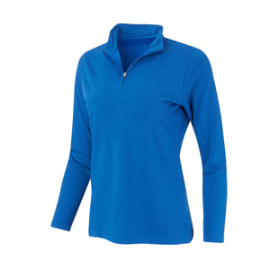 THE WOMEN'S MATTHEWS LOFTEC HALF ZIP PULLOVER - Nautical IS76308HZW