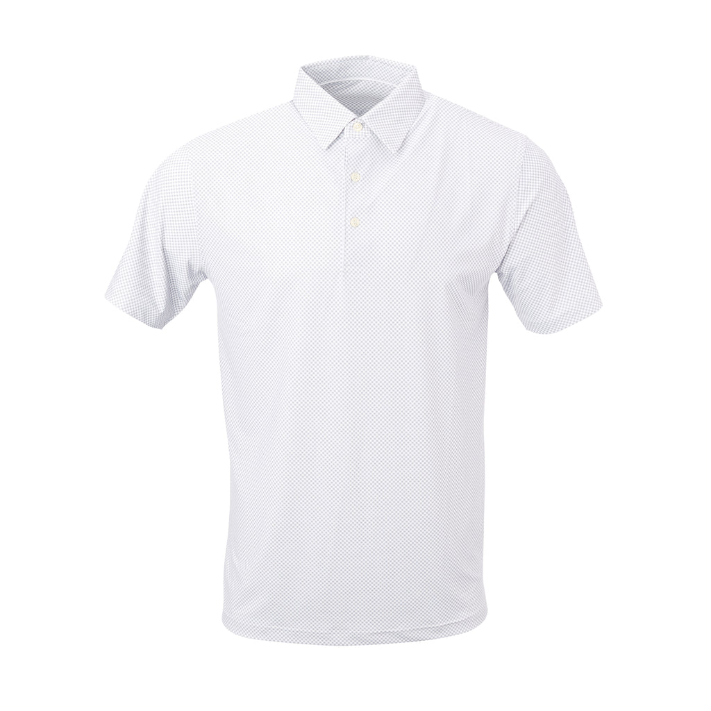 THE VINEYARD GINGHAM POLO - Cloud IS76801