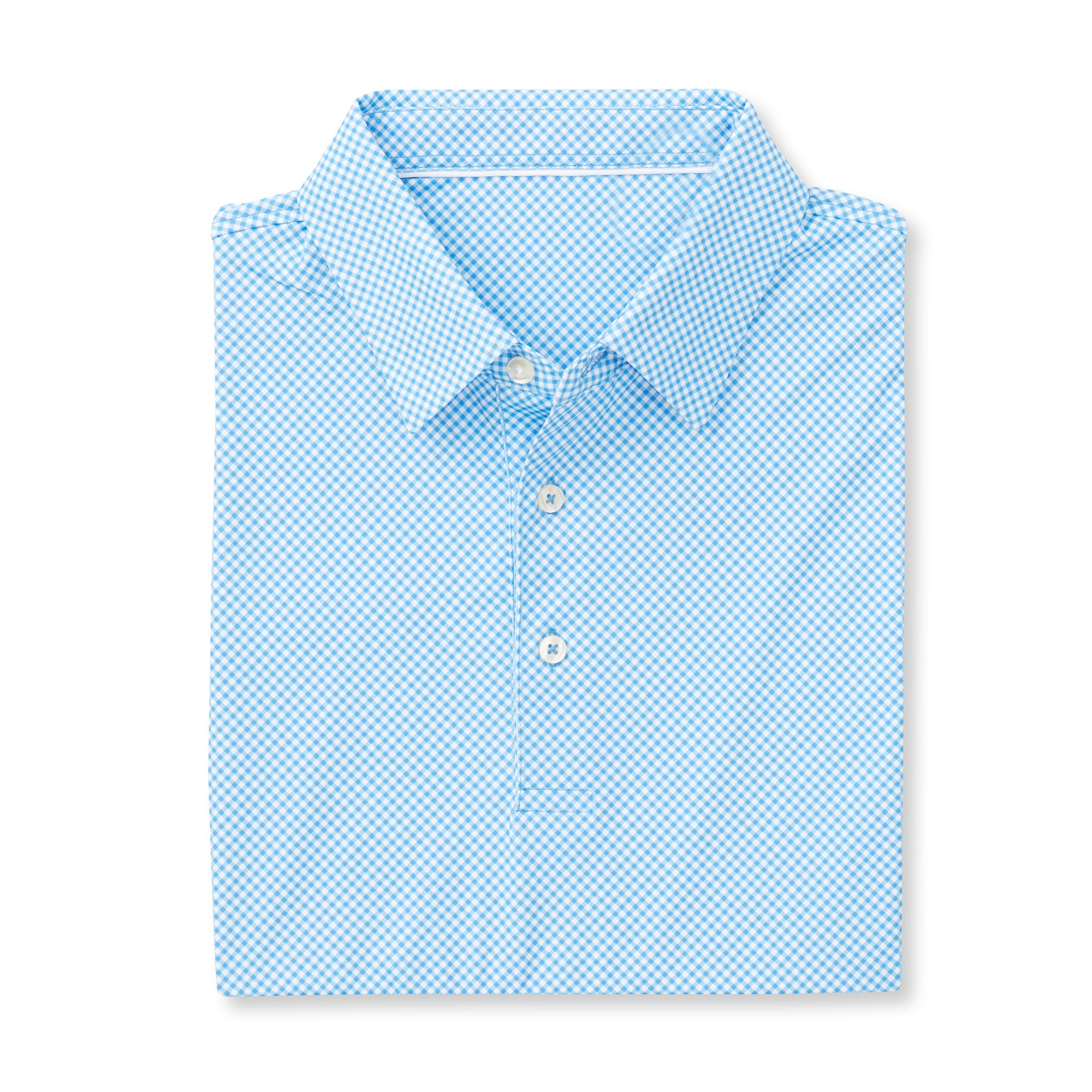THE VINEYARD GINGHAM POLO - Maui IS76801