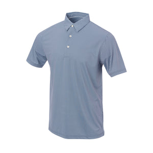 THE VINEYARD GINGHAM POLO - Navy IS76801