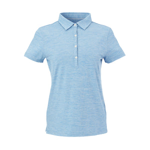THE WOMEN'S ZEN PEACHED POLO - Nautical/Cloud IS76802W
