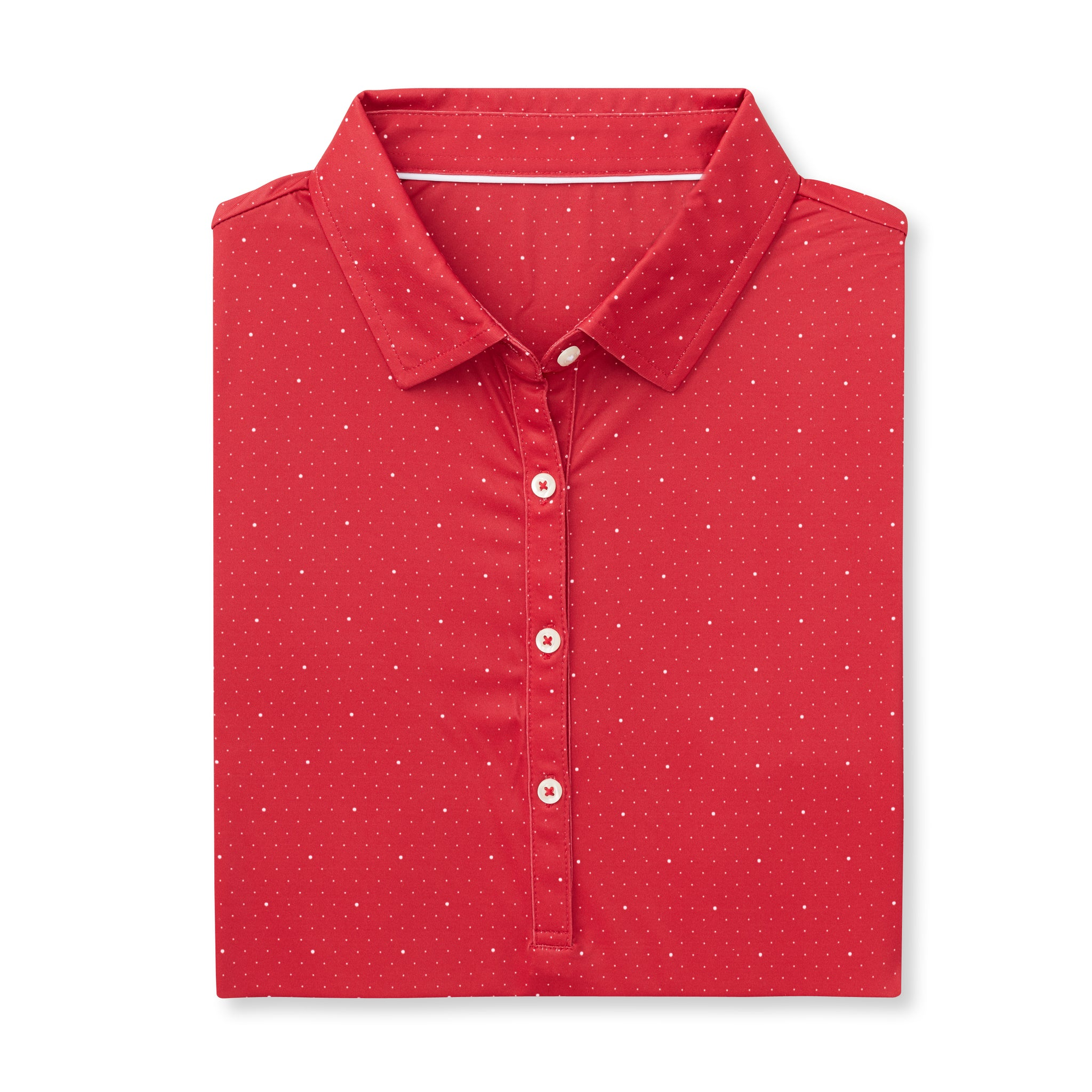 THE WOMEN'S SYWALKER POLO - Crimson/White IS76803W