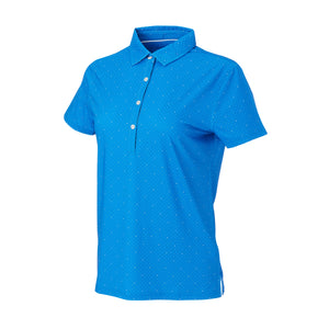 THE WOMEN'S SYWALKER POLO - Nautical/White IS76803W