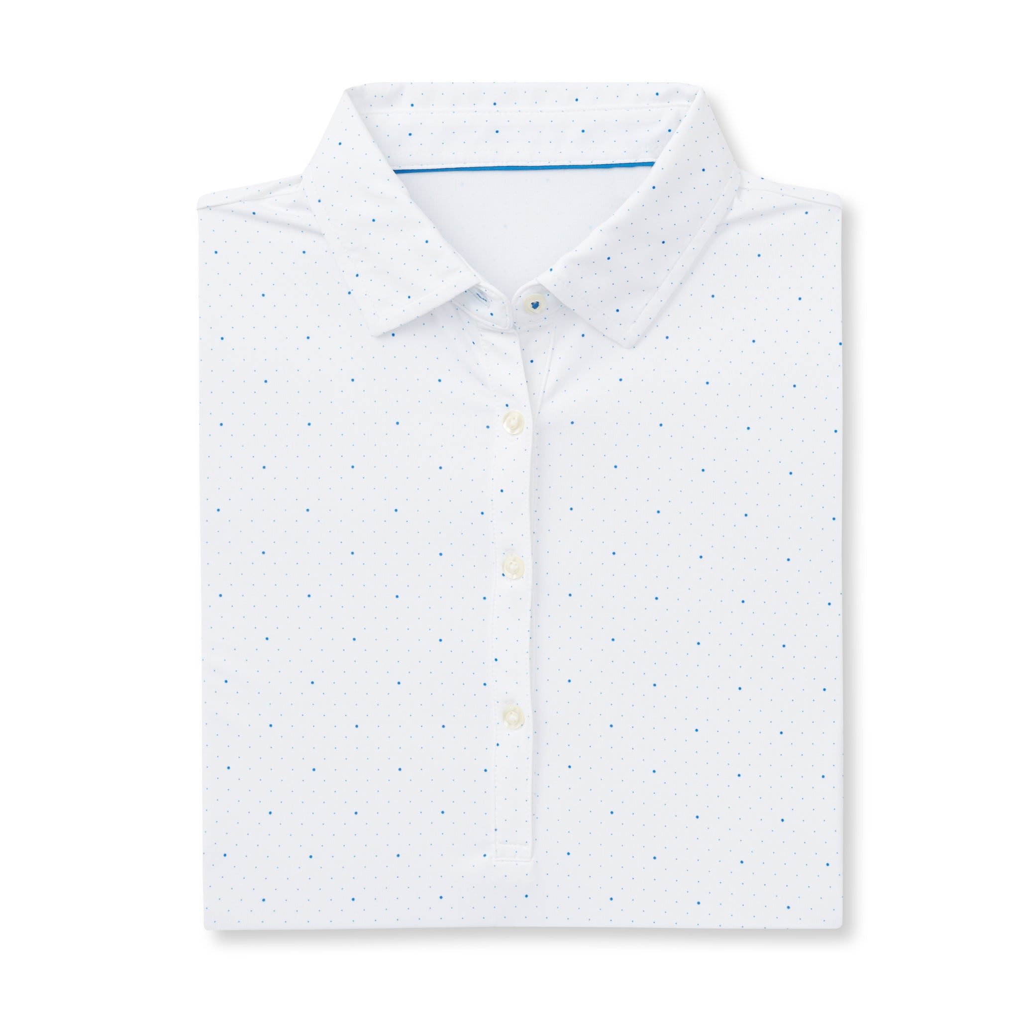 THE WOMEN'S SYWALKER POLO - White/Nautical IS76803W
