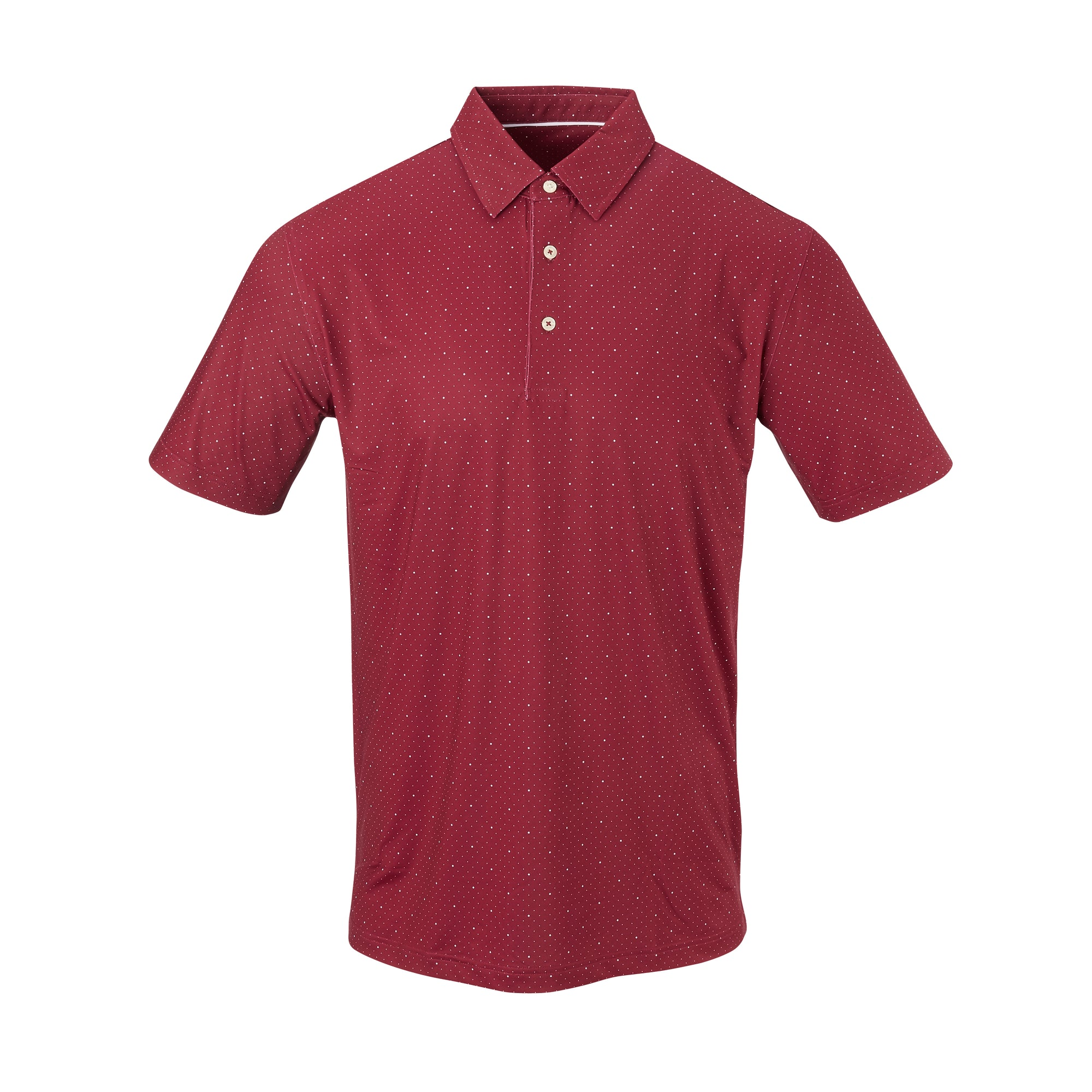 THE SYWALKER POLO - Merlot/White IS76803